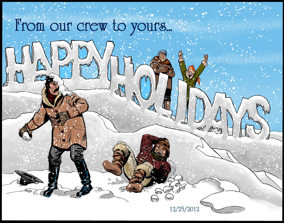 From our crew to yours….