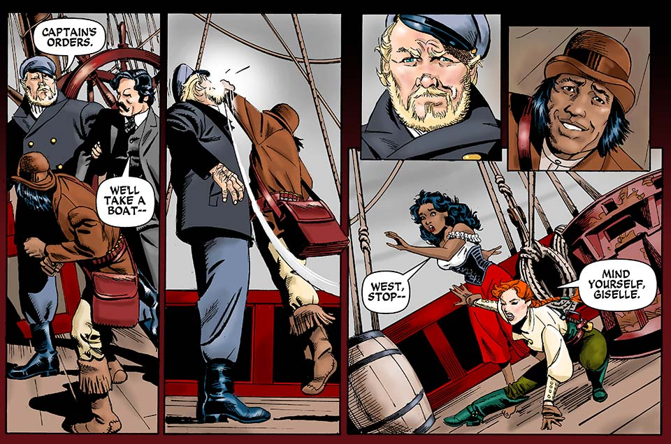 Chapter 12, Part Eight: Captain's Orders