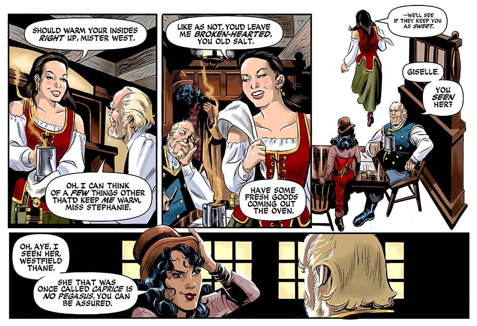 Epilogue, Part Three: The Hope & Anchor tavern