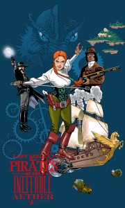 Lady Sabre & The Pirates of the Ineffable Aether Poster
