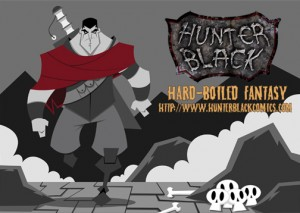 Hunter Black - The Webcomic